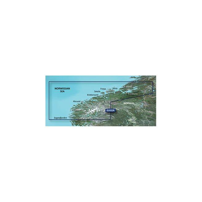 Garmin Sognefjorden - Svefjorden Garmin microSD™/SD™ card: VEU052R