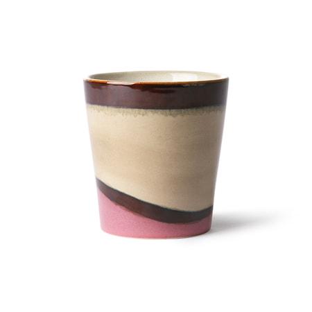 Ceramic 70's Mugg Dunes