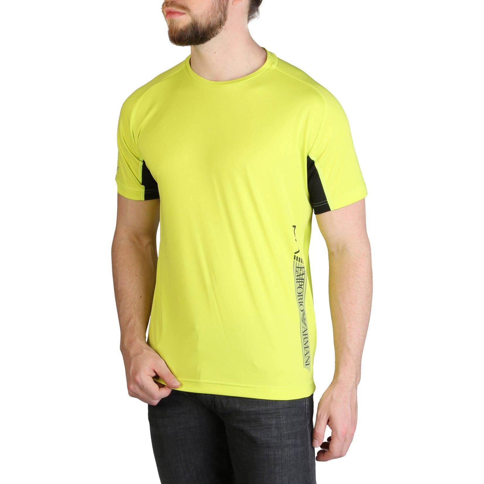 EA7 Men's T-Shirt Various Colours 3GPT44_PJH6Z - yellow S