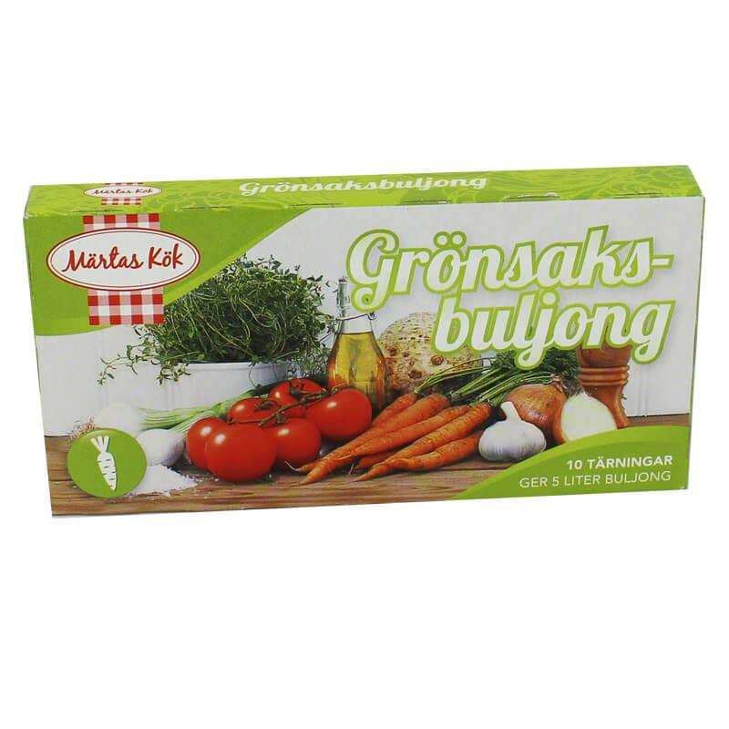 Märtas Grönsaksbuljong 10-pack