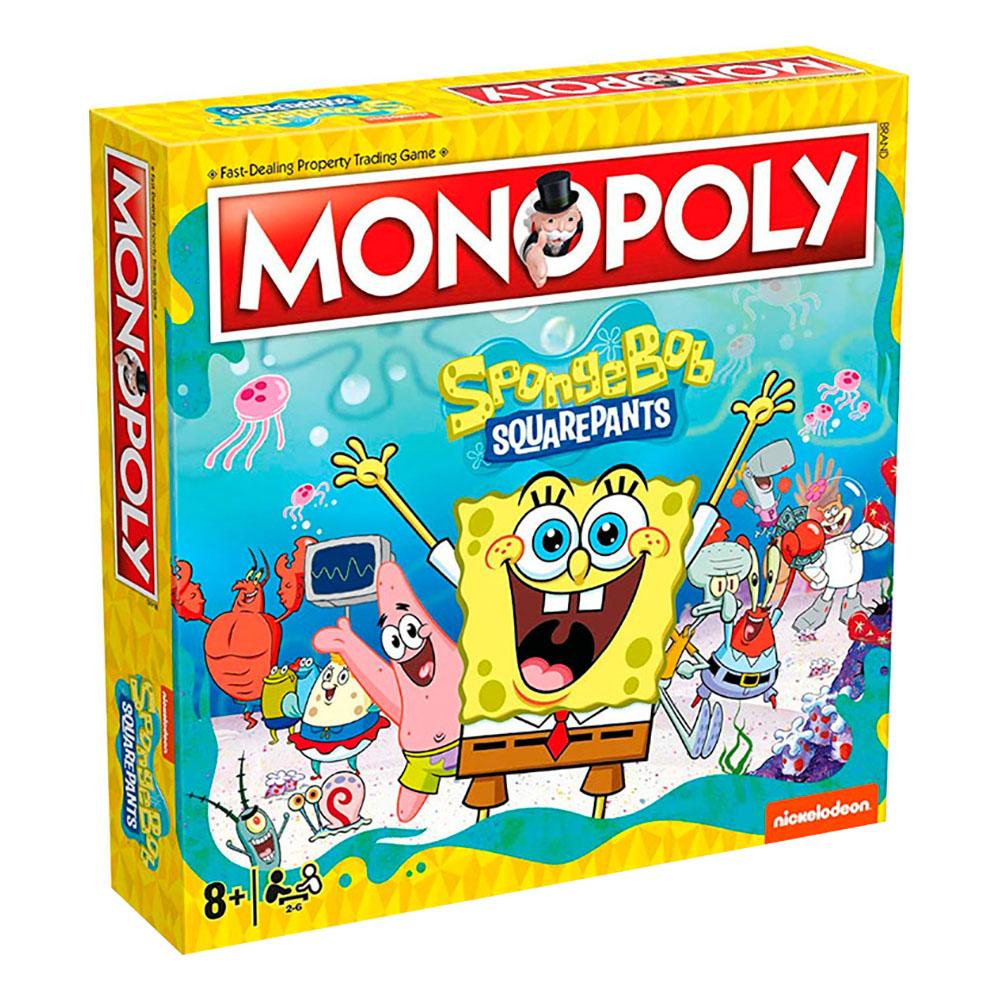 Monopoly Svampbob Fyrkant