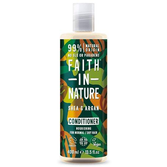 Faith in Nature Shea & Argan Conditioner, 400 ml