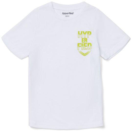 Hyperfied Neo Logo T-Shirt, Bright White 86-92
