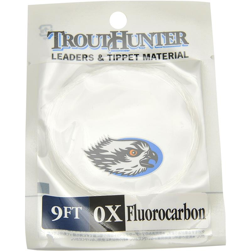 TroutHunter Fluorocarbon Leader 9' 03X 0,37mm.