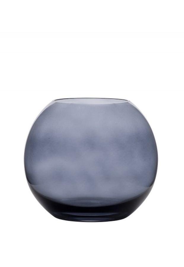 Hadeland Glassverk Sans Novo Vase 110Mm Blå