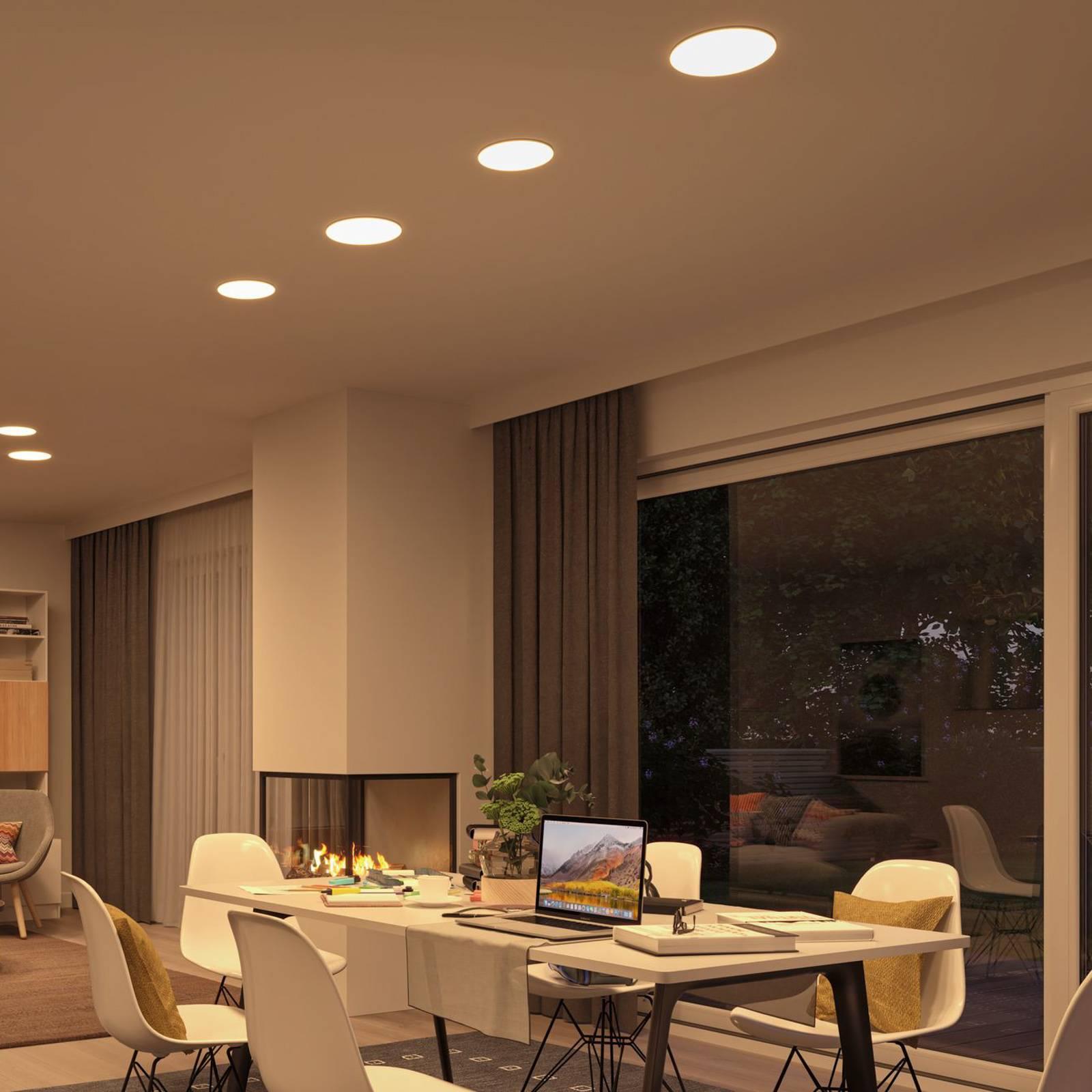 Paulmann-LED-paneeli Veluna, CCT ZigBee 21,5cm