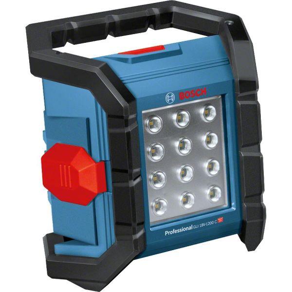 Bosch GLI 18V-1200 C Lampe uten batteri og lader