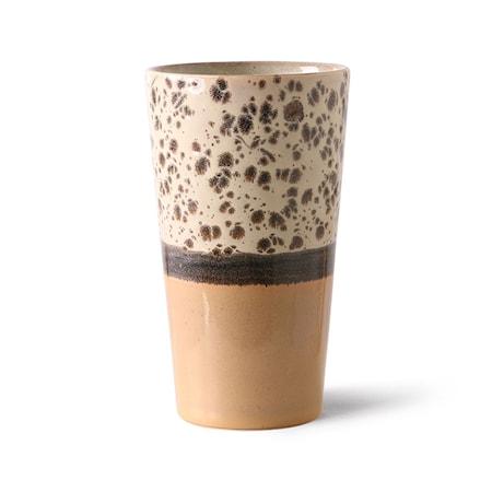70s ceramics Latte Mugg Tropical