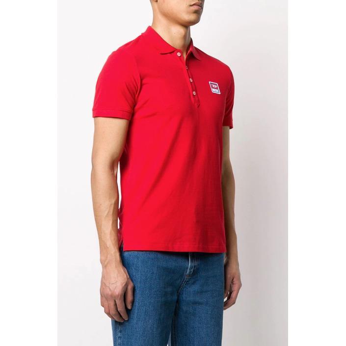 Diesel Men's Polo Shirt Various Colours 283910 - red M