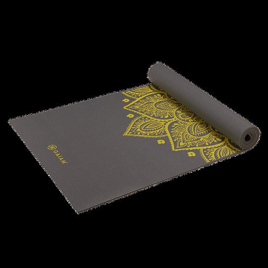 Citron Sundial Yoga Mat 5MM