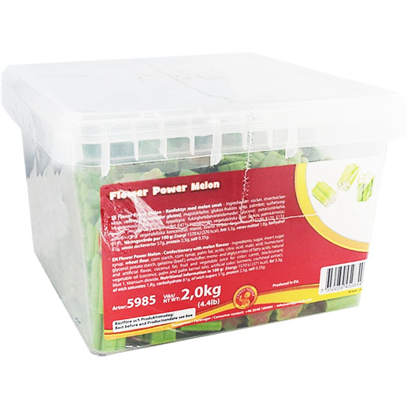 """Makeislaatikko """"Flower Power Melon"""" 2kg - 50% alennus"""