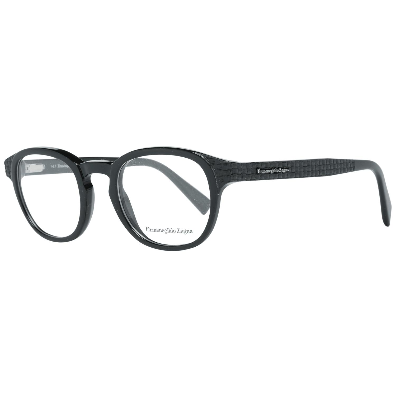 Ermenegildo Zegna Men's Optical Frames Eyewear Black EZ5108 48001