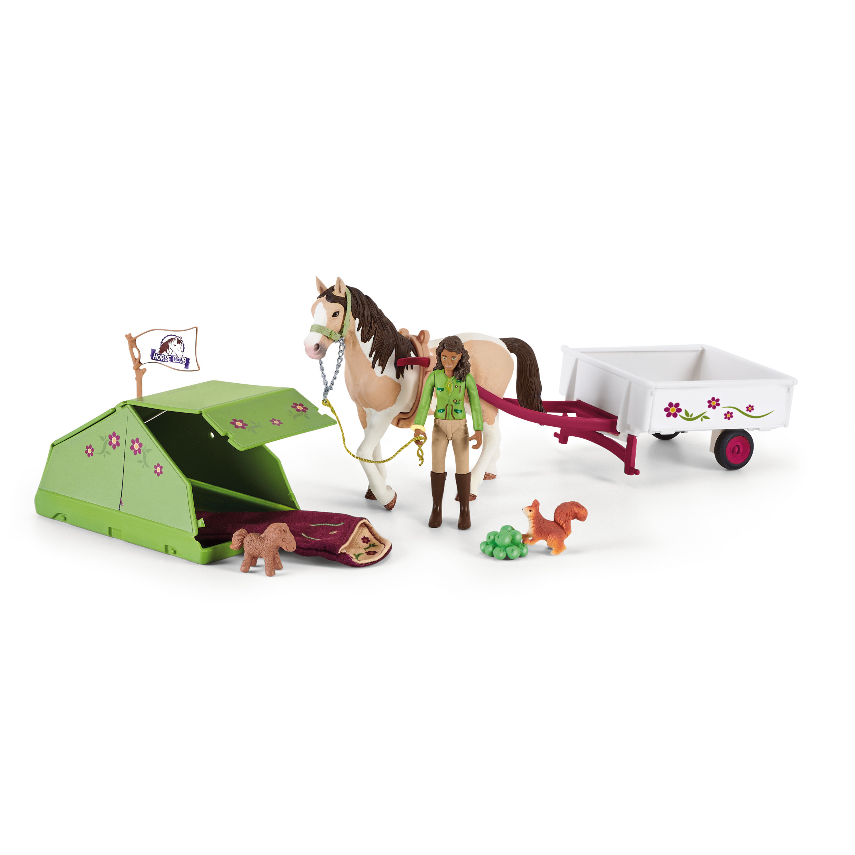 Schleich - Horse Club Sarah's Camping (42533)