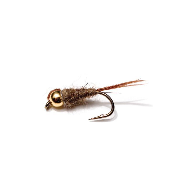 Hare Ears Black Bead str. 12 Kjøp 12 fluer få gratis flueboks