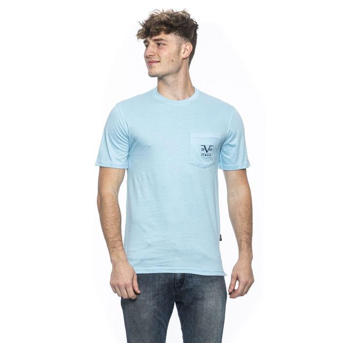 19v69 Italia Men's T-Shirt Blue 185342 - blue M