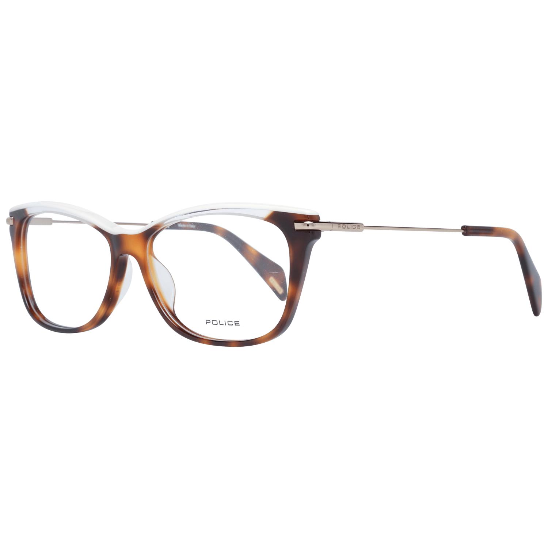 Police Women's Optical Frames Eyewear Brown PL506V 5309AJ