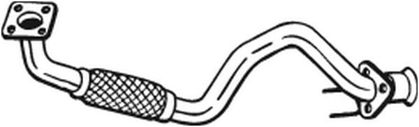 Pakoputki BOSAL 753-109