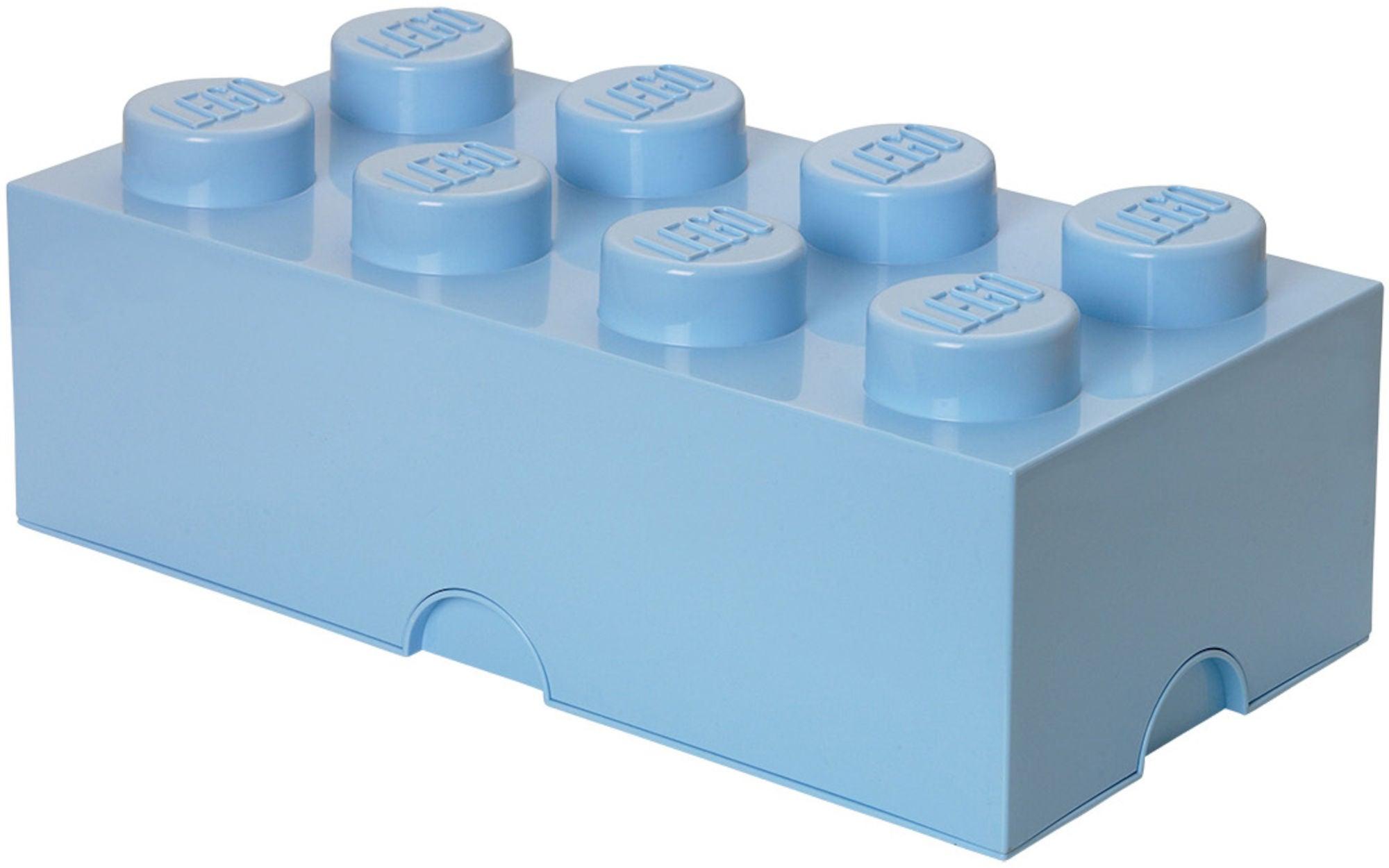 LEGO Säilytyslaatikko 8, Vaaleansininen