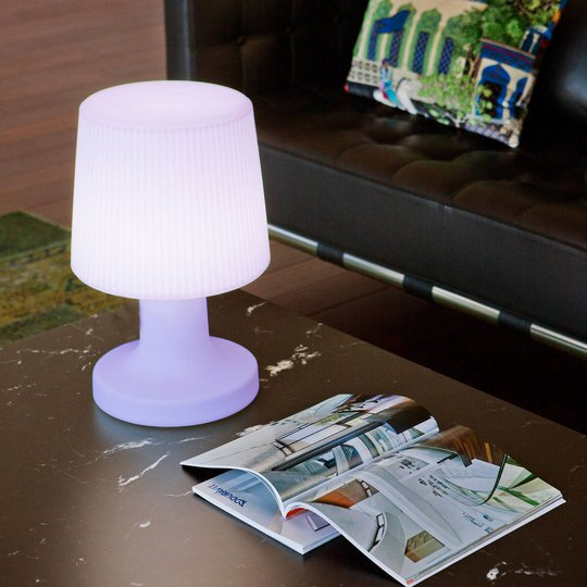 Newgarden Carmen LED-bordlampe med batteri