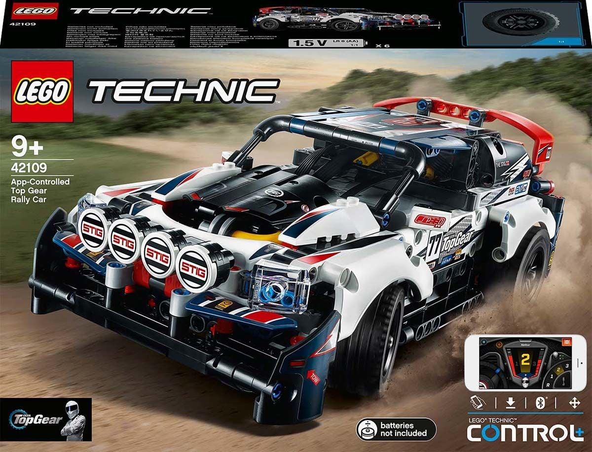 LEGO Technic 42109 Kauko-ohjattava Top Gear Ralliauto