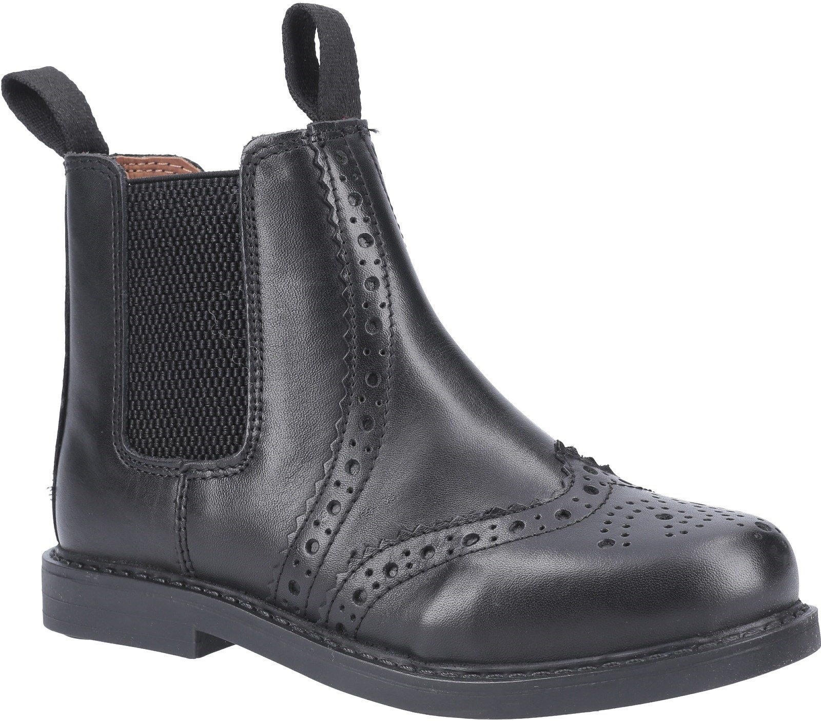 Cotswold Unisex Nympsfield Brogue Pull On Boots Multicolor 29270 - Black 10