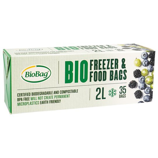 BioBag Nedbrytbar Fryspåse - 2 L, 35-pack