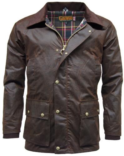 Game Technical Apparel Unisex Jacket Various Colours Barker - Brown S