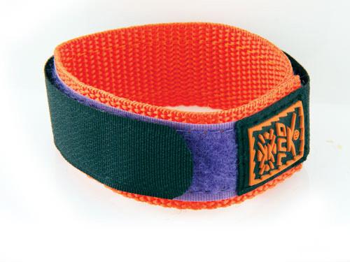 GUL Armband Velcro 18-20mm - Black/Purple/Orange 431201