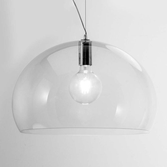 Big FL/Y – design-riippuvalo, LED, läpinäkyvä