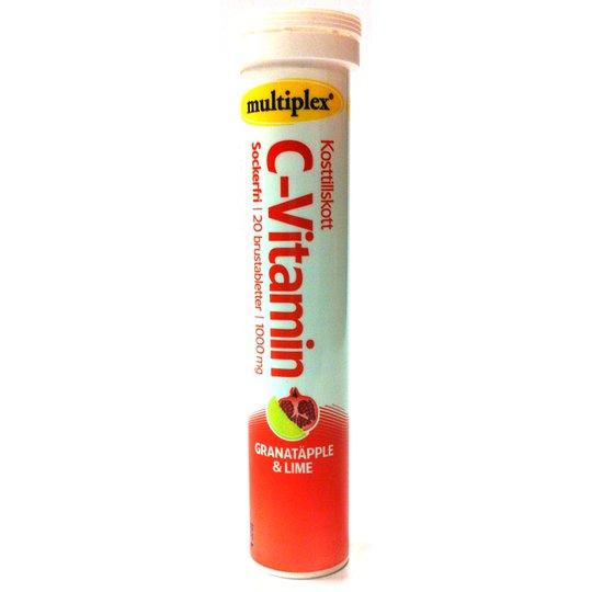 C-vitamin sockerfri granatäpple & lime - 43% rabatt