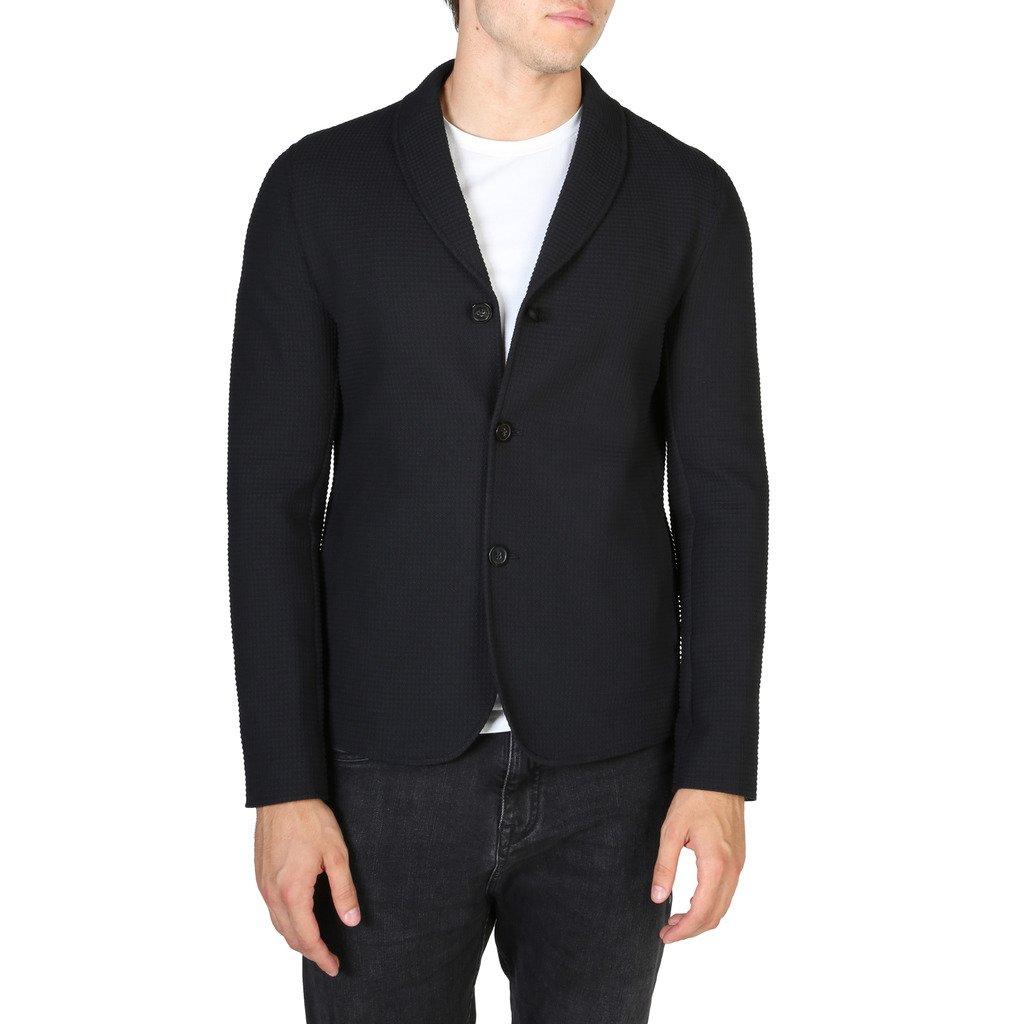 Emporio Armani Men's Blazer Various Colours V1G780V1203 - black 50