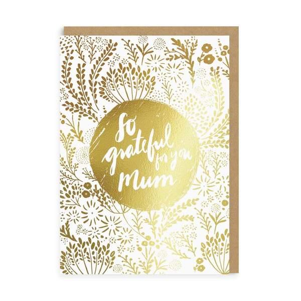 So Grateful Mum Greeting Card