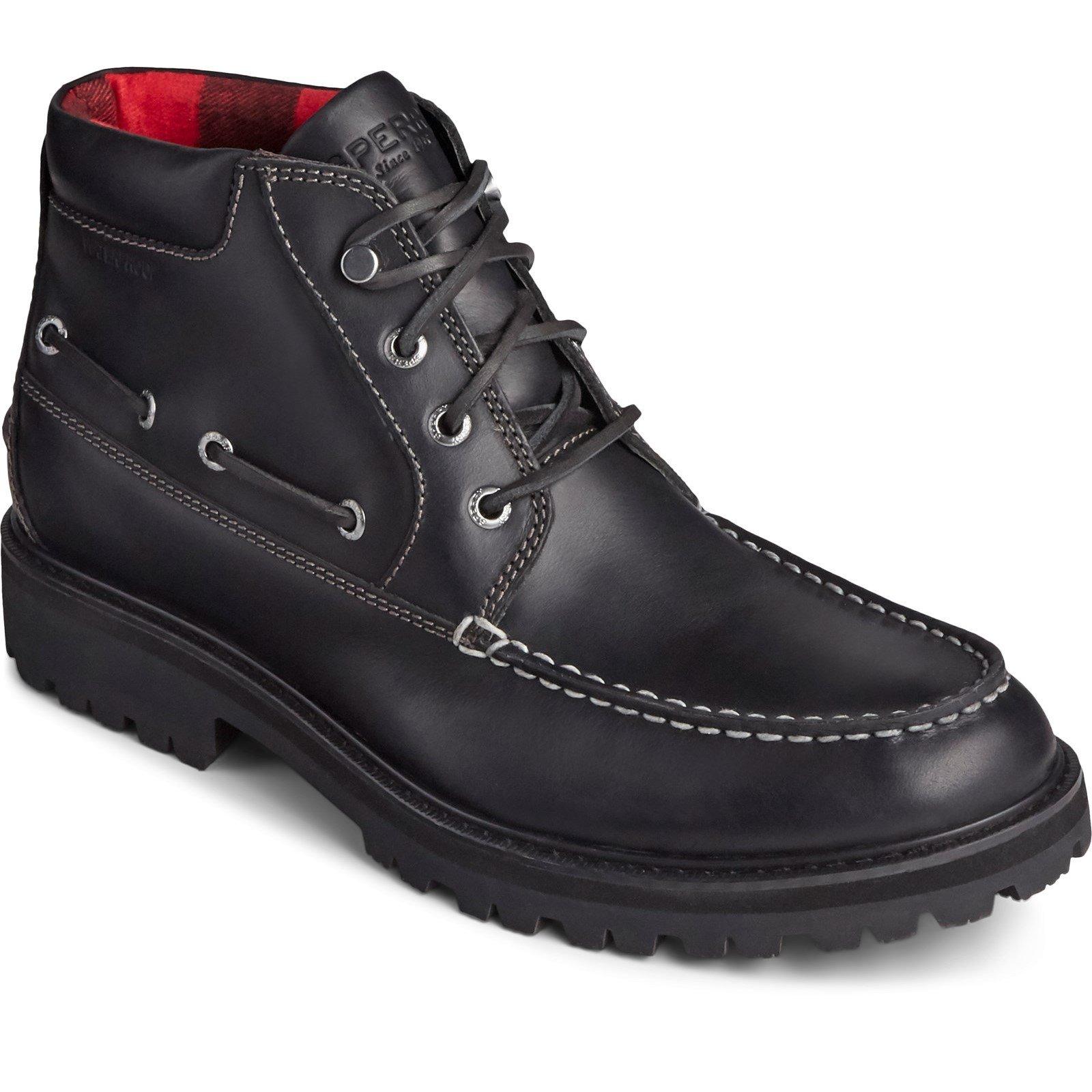 Sperry Men's Authentic Original Lug Chukka Boot Various Colours 32068 - Black 6