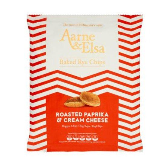 Rågchips Roasted Paprika & Cream Cheese - 50% rabatt