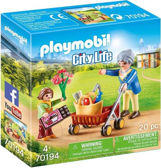 Playmobil 70194 Mormor med barnebarn