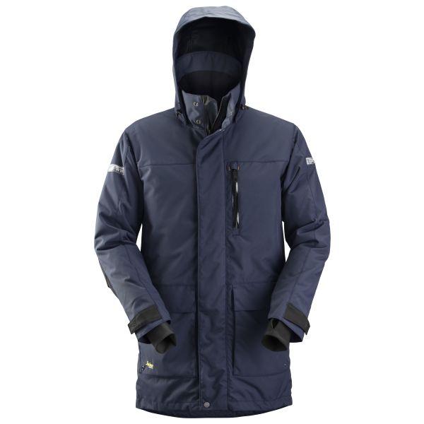 Snickers 1800 AllroundWork Vinterparkas marinblå XS