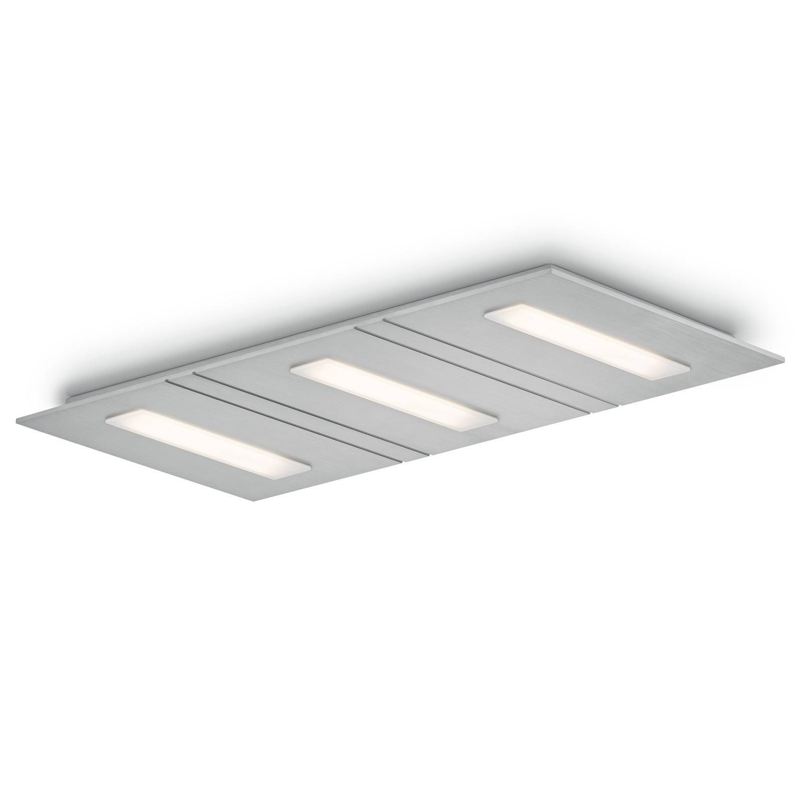 LED-kattovalaisin Sina-3, dim-to-warm 3-lamppuinen