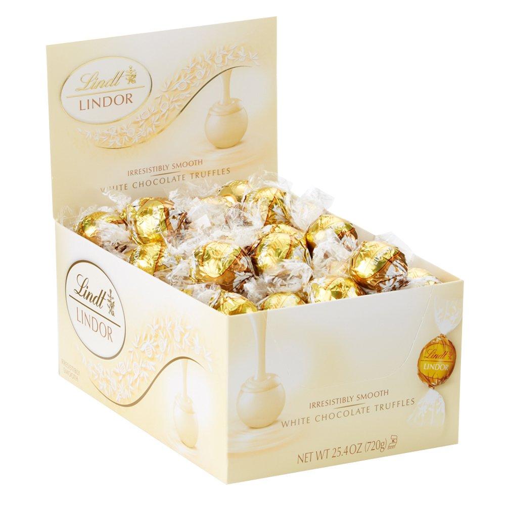 Lindor White Chocolate Truffle 60st