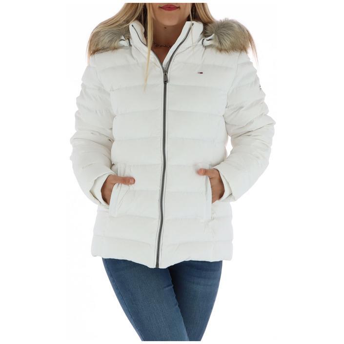 Tommy Hilfiger Jeans Women's Jacket White 314313 - white XL