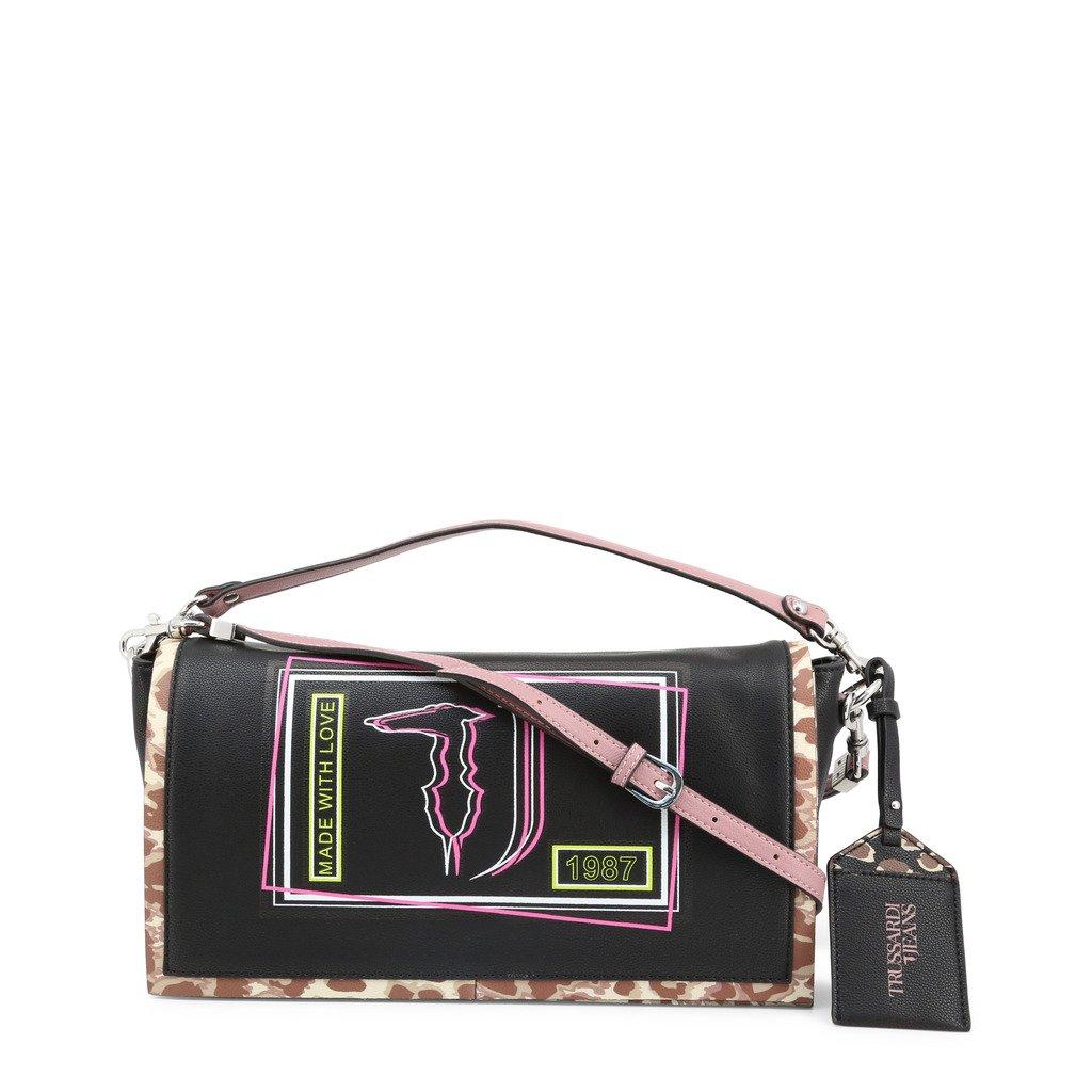 Trussardi Women's Shoulder Bag Various Colours LIQUIRIZIA_75B00417 - black NOSIZE