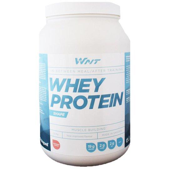 """Proteinpulver """"Whey Protein"""" Jordgubb 1kg - 47% rabatt"""
