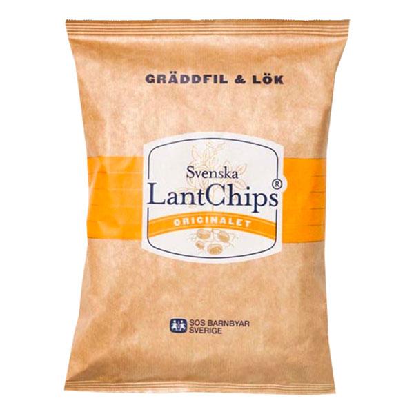 Lantchips Gräddfil Lök 200g - 38% rabatt