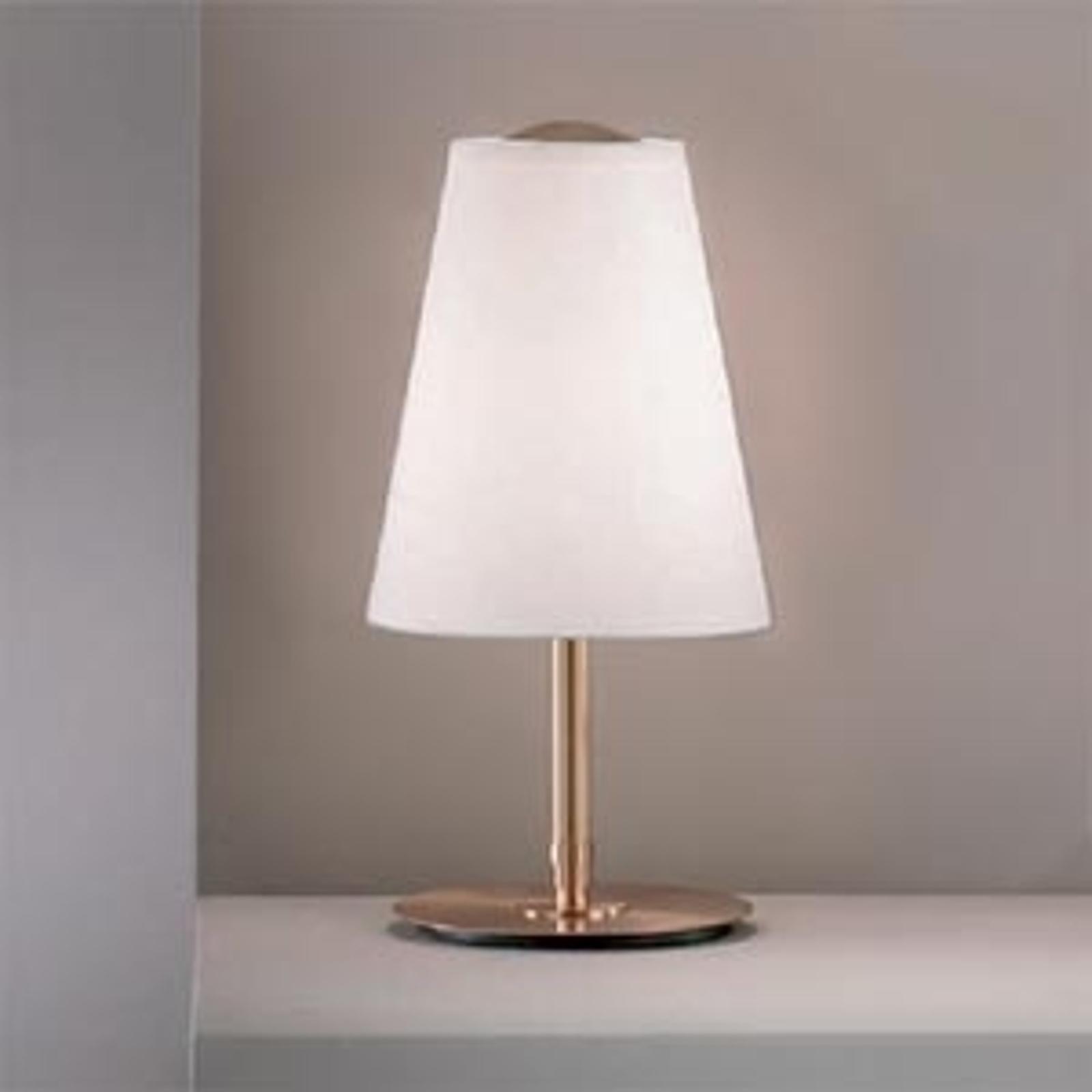 Clemo-pöytälamppu, korkeus 38 cm, kulta