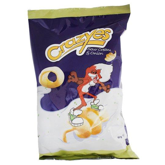 "Potatissnacks ""Sourcream & Onion"" 90g - 36% rabatt"