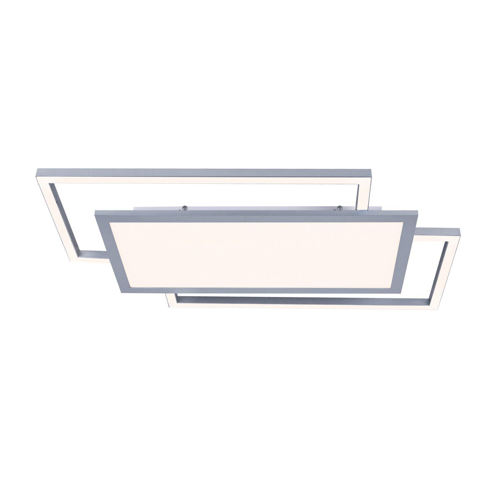 Lucande Ciaran LED-taklampe, rektangulær, CCT