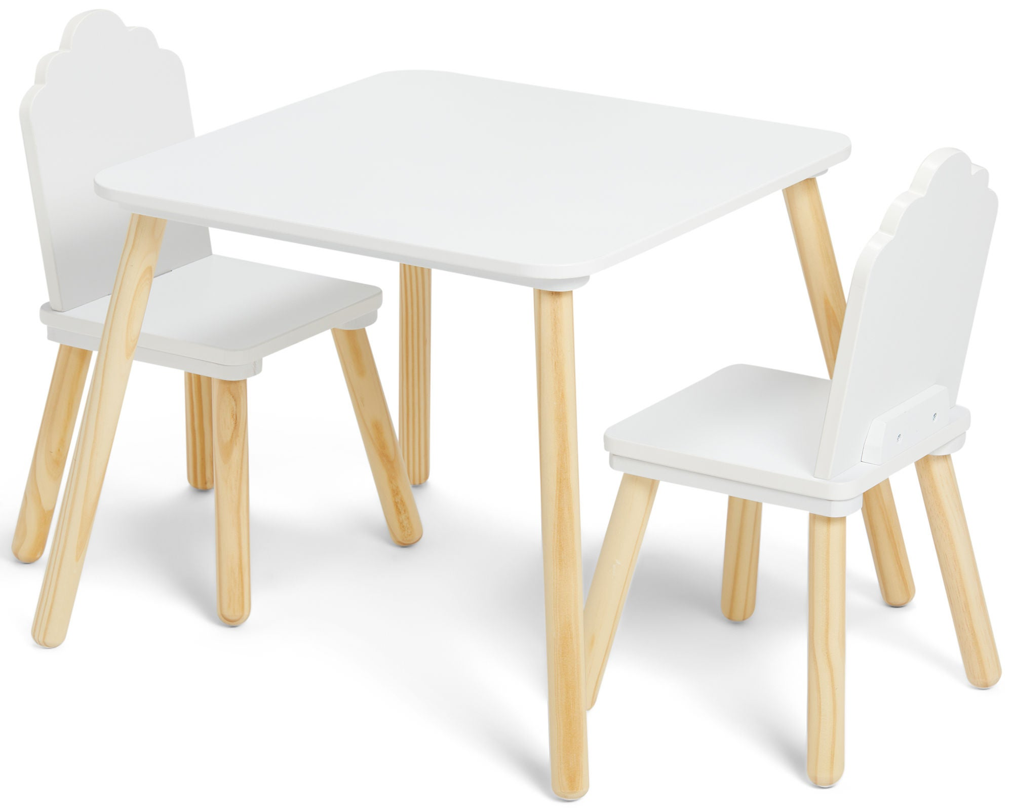 Alice & Fox Pöytä & Tuoli, Pilvi Valkoinen