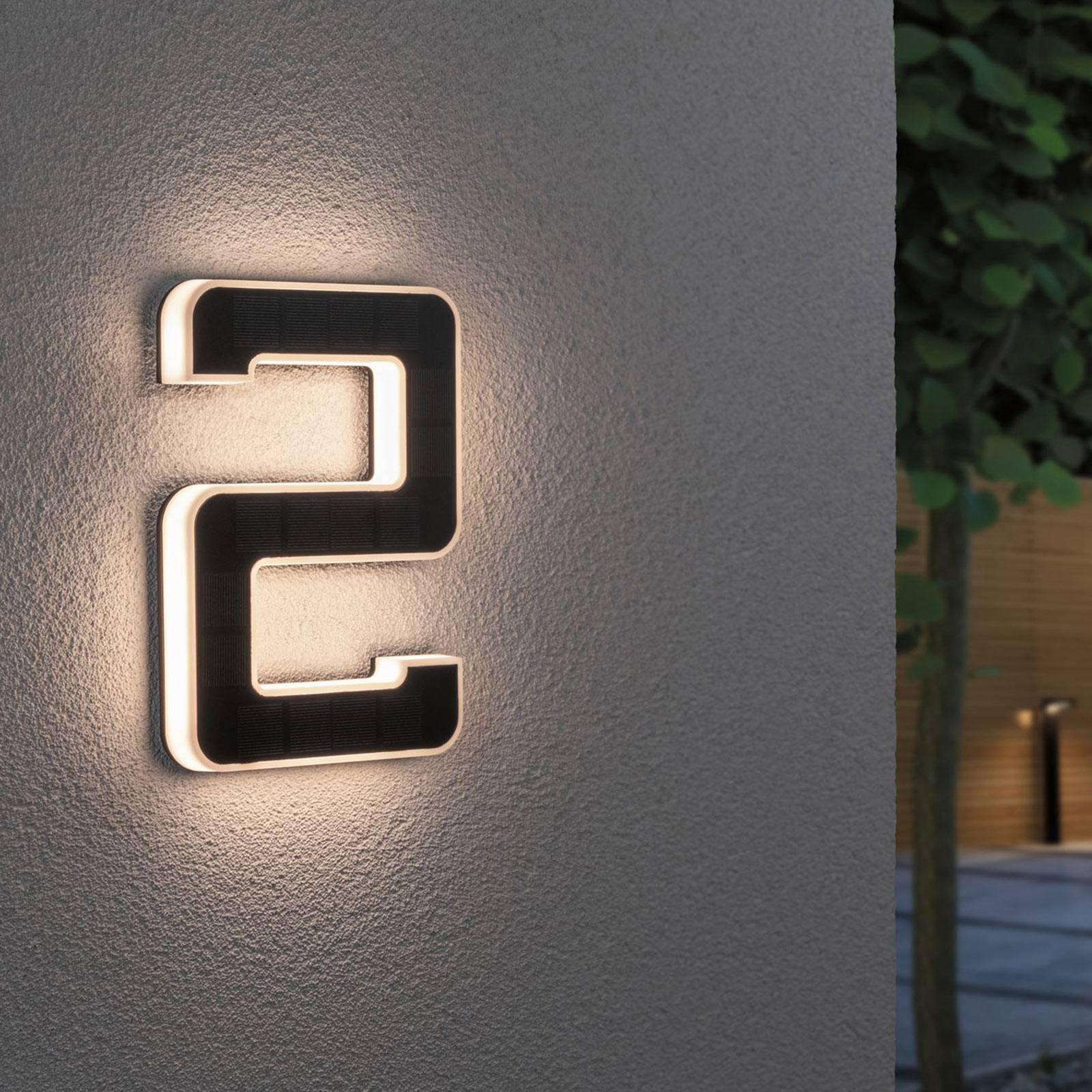 Paulmann LED-sol-husnummer 2
