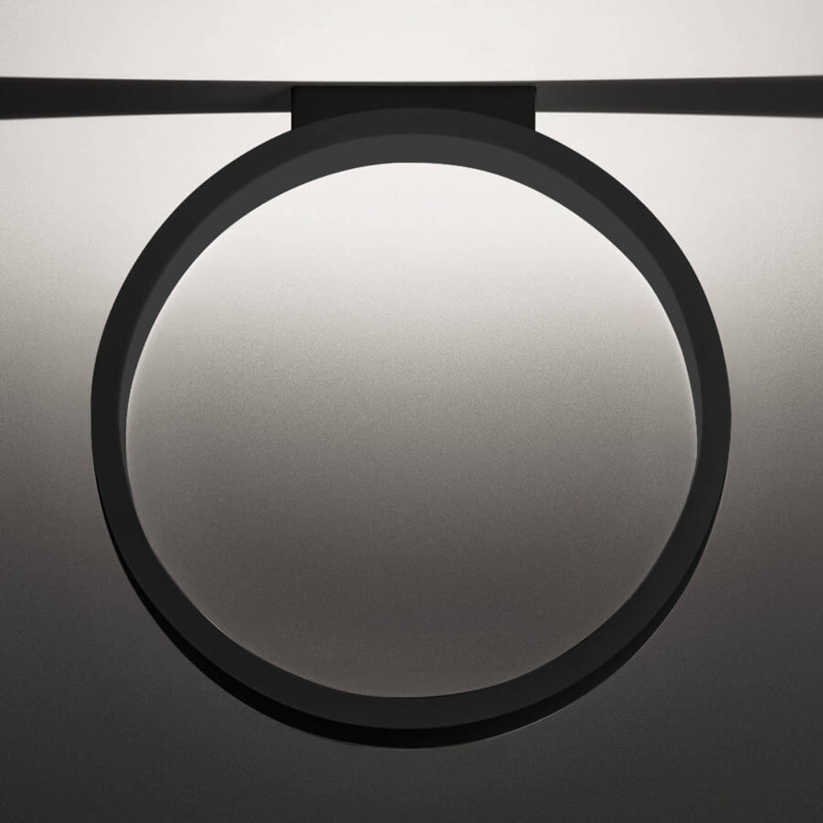 Cini&Nils Assolo - LED-taklampe, svart, 43 cm