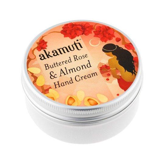 Akamuti Buttered Rose & Almond Hand Cream, 50 ml