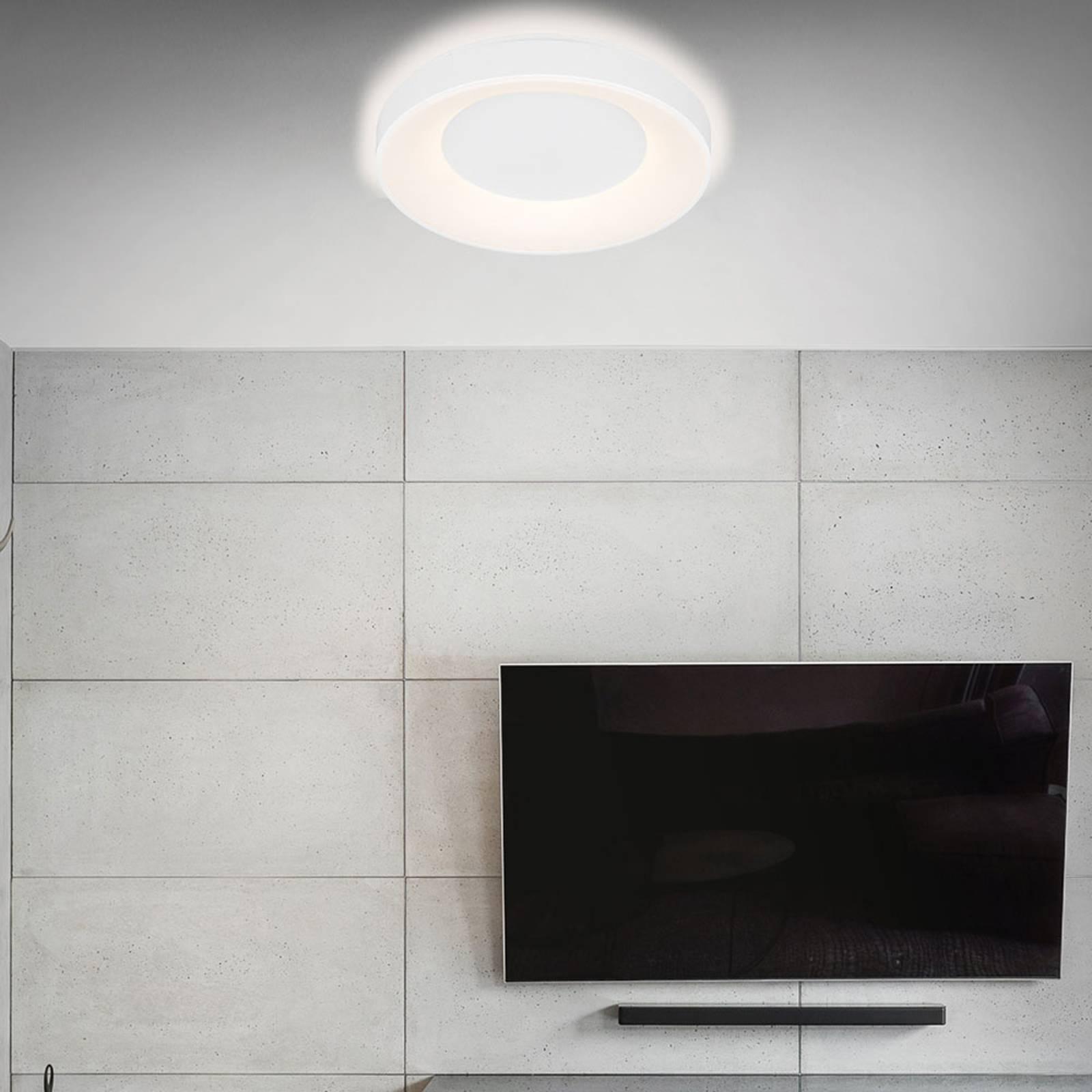 LED-kattovalaisin Rondo CCT kaukosäädin, valkoinen